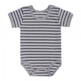 Imagem - Body Bebê  Listrado Lapuko - 10250-body-mc-listrado-mescla