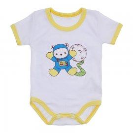 Imagem - Body Bebê Malha Canelada Estampado - 10233-body-mc-astronauta