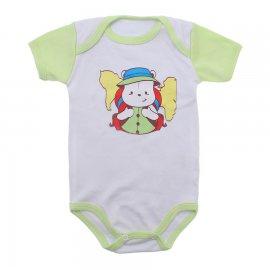 Imagem - Body Bebê Manga Curta Colorida Estampado - 9962-body-mc-explorador-verde-medio