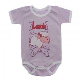 Imagem - Body Bebê Manga Curta Estampado Lapuko - 10152-body-mc-ovelha-branco