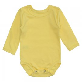 Imagem - Body Bebê Manga Longa Lapuko - 10195-body-ml-amarelo