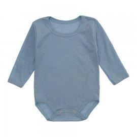 Imagem - Body Bebê Manga Longa Lapuko - 10195-body-ml-ribana-azul-bebe