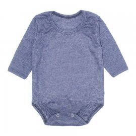 Imagem - Body Bebê Manga Longa Lapuko - 10195-body-ml-azul-mescla
