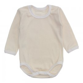 Imagem - Body Bebê Manga Longa Lapuko - 10195-body-ml-ribana-creme