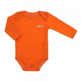 Imagem - Body Bebê Manga Longa Lapuko - 10112-body-ml-rib-laranja