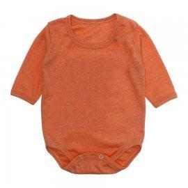 Imagem - Body Bebê Manga Longa Lapuko - 10195-body-ml-ribana-laranja
