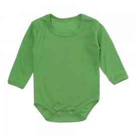 Imagem - Body Bebê Manga Longa Lapuko - 10195-body-ml-rib-verde