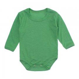 Imagem - Body Bebê Manga Longa Lapuko - 10195-body-ml-rib-verde-bandeira