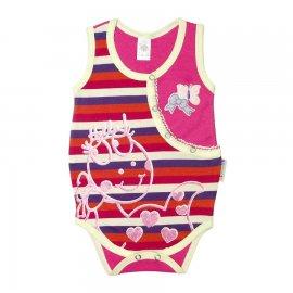 Imagem - Body Bebe Menina - 4858 -Body Bebe Menina pink