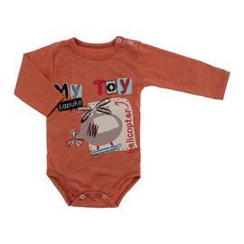 Body Bebê Menino Manga Longa