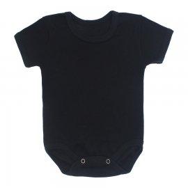 Imagem - Body Bebê Preto Ribana Lapuko - 10175-body-rib-mc-preto