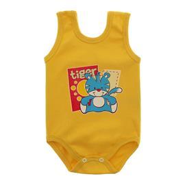 Imagem - Body Bebê Regata Estampado - 10088-regata-mno-amarelo