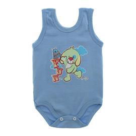 Imagem - Body Bebê Regata Estampado - 10088-regata-menino-azul