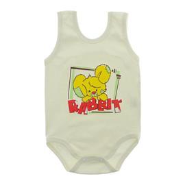 Imagem - Body Bebê Regata Estampado - 10088-bodyr-regata-menino-creme