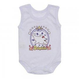 Imagem - Body Bebê Regata Estampado Lapuko - 10225-body-regata-menina-branco