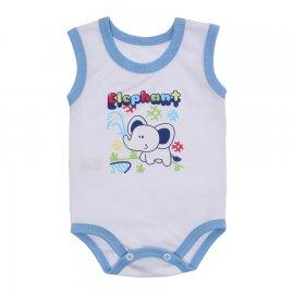 Imagem - Body Bebê Regata Estampado Lapuko - 10224-body-regata-azul-bebe