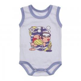 Imagem - Body Bebê Regata Estampado Lapuko - 10225-body-regata-menina-lilas