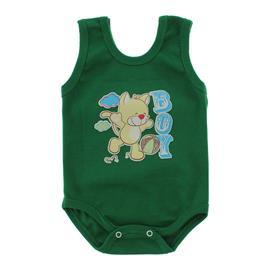 Imagem - Body Bebê Regata Estampado - 10088-body-regata-verde-bandeira