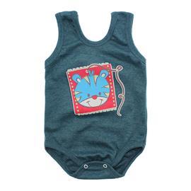 Imagem - Body Bebê Regata Estampado - 10088-body-regata-verde-mescla