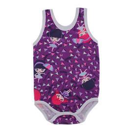 Imagem - Body Bebê Regata Lapuko  - 9918-body-regata-violeta-girls