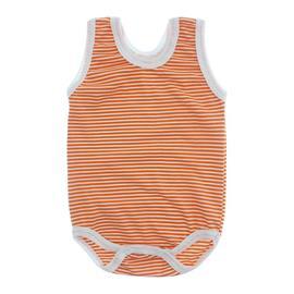 Imagem - Body Bebê Regata Lapuko - 10069-body-regata-listradinho-laran