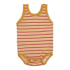 Imagem - Body Bebê Regata Lapuko  - 9918-body-regata-listrado-laranja