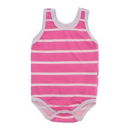 Imagem - Body Bebê Regata Lapuko  - 9918-body-regata-listrado-pink