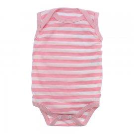 Imagem - Body Bebê Regata Lapuko  - 9918-body-regata-rosa-branco
