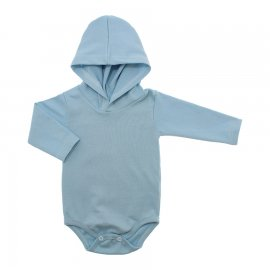 Imagem - Body com Capuz em Ribana Lapuko - 10029-body-capuz-azul-bebe