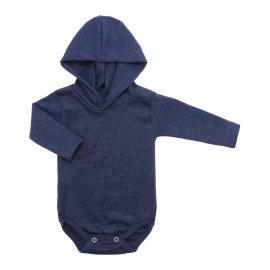 Imagem - Body com Capuz em Ribana Lapuko - 10029-body-capuz-azul-jeans-mescla