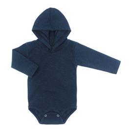 Imagem - Body com Capuz em Ribana Lapuko - 10029-body-capuz-azul-mescla