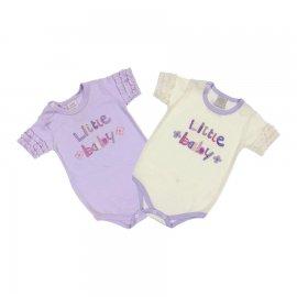 Imagem - Body Bebê Little Baby Korte Rekorte 2 peças - 6553-body-little-baby-2-pcs