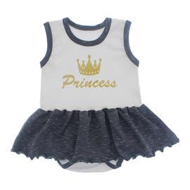Imagem - Body com Saia Princess - 10101-body-saia-princess-preto-mesc