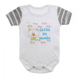 Imagem - Body de Bebê com Frases Lapuko - 10176-body-frases-gatao-mamae