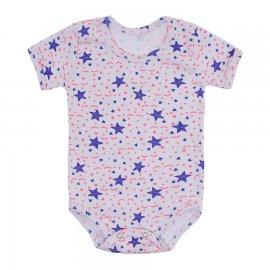 Imagem - Body de Bebê Estampado Lapuko - 10208-body-estrela-lilas