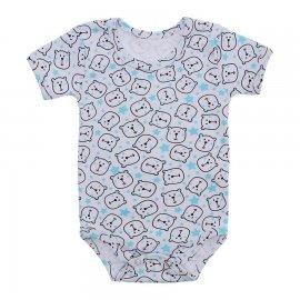 Imagem - Body de Bebê Estampado Lapuko - 10208-body-urso-azul