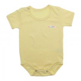Imagem - Body de Bebê Manga Curta - 10171-body-mc-amarelo