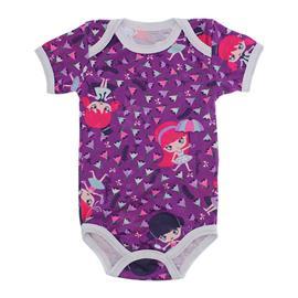 Imagem - Body de Bebê de Malha Lapuko - 9937-body-mc-meninas-roxo