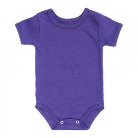 Imagem - Body de Bebê Manga Curta Lapuko  - 9929-body-mc-suedine-roxo