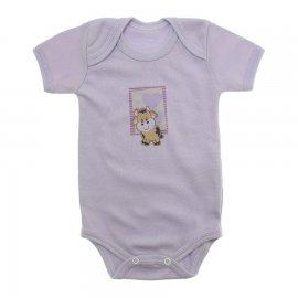 Imagem - Body de Bebê Manga Curta - 10131-body-mc-lilás