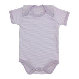 Imagem - Body de Bebê Manga Curta Listrado - 8747-body-mc-listrado-lilás