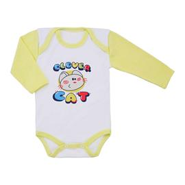 Imagem - Body de Bebê Manga Longa  - 8634-body-ml-amarelo-cat