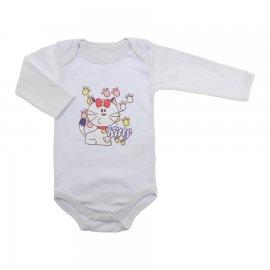 Imagem - Body de Bebê Manga Longa - 7587-body-ml-branco-kitty