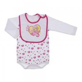Imagem - Body e Babador de Bebê Penélope Charminho  6505 - 6505-branco