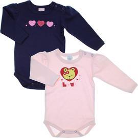 Imagem - Body Bebê Love kit 2 peças - 5798 - Marinho/Rosa