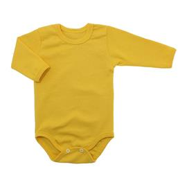 Imagem - Body de Bebê Manga Longa Ribana Lapuko - 5299-body-ml-ribana-amarelo-ouro