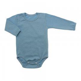 Imagem - Body de Bebê Manga Longa Ribana Lapuko - 5299-body-ml-rib-azul