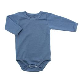 Imagem - Body de Bebê Manga Longa Ribana Lapuko - 5299-body-ml-ribana-azul-medio