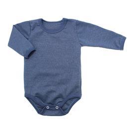 Imagem - Body de Bebê Manga Longa Ribana Lapuko - 5299-body-ml-azul-medio-mescla