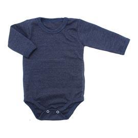 Imagem - Body de Bebê Manga Longa Ribana Lapuko - 5299-body-ml-ribana-azul-mescla